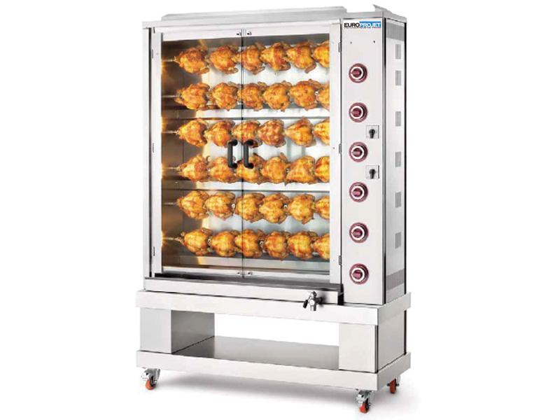 rotissoire de poulet à gaz Maroc
