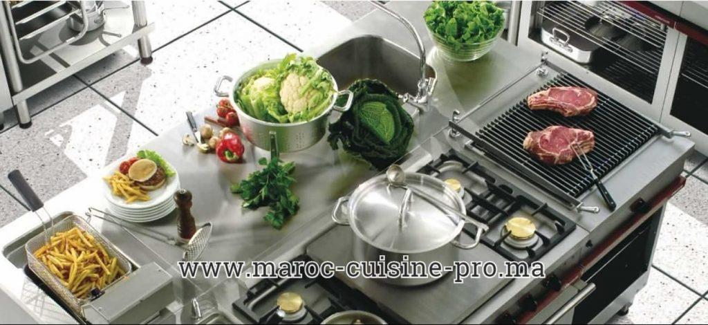 Vente des équipements pour restaurant à El Jadida Maroc
