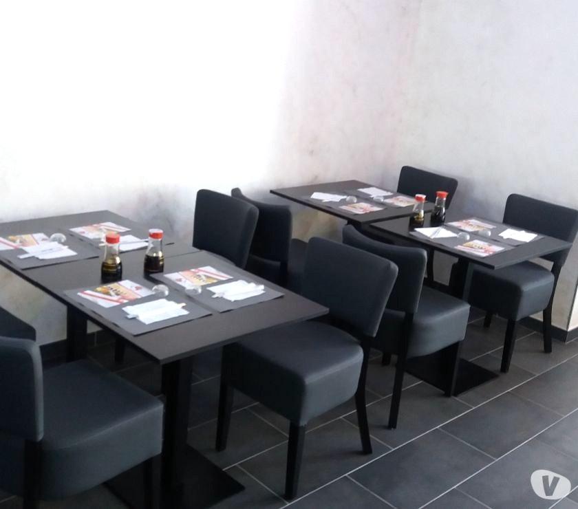 chaises et tables pour cafés restaurants Maroc